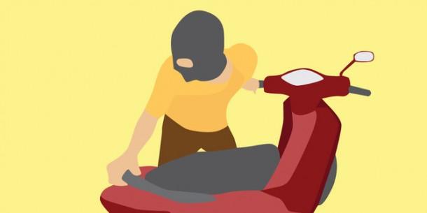 Pencuri Sepeda Motor