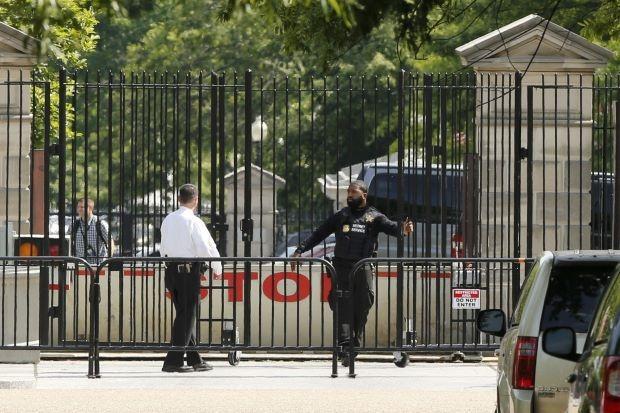 Pengawal Obama di Gedung Putih | ist