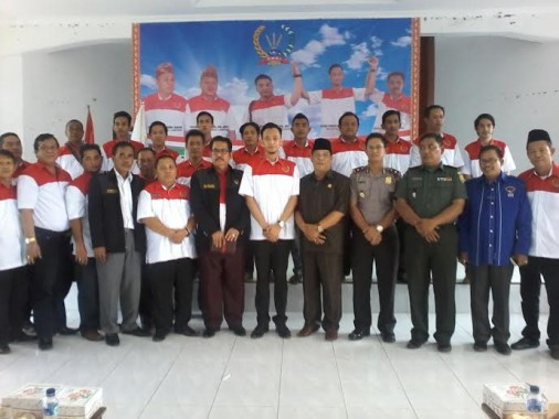 Aldino Wirawan Abung Pimpin DPC PWRI Lampung Utara