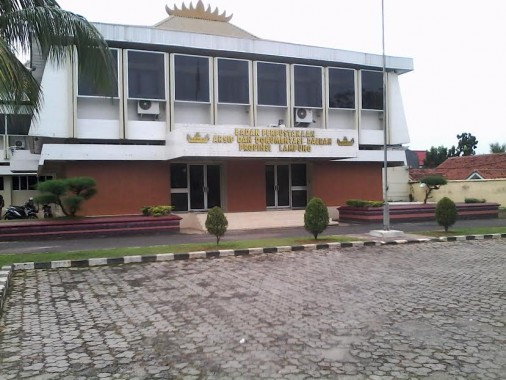 Perpustakaan Daerah Lampung. | Widya/Jejamo.com