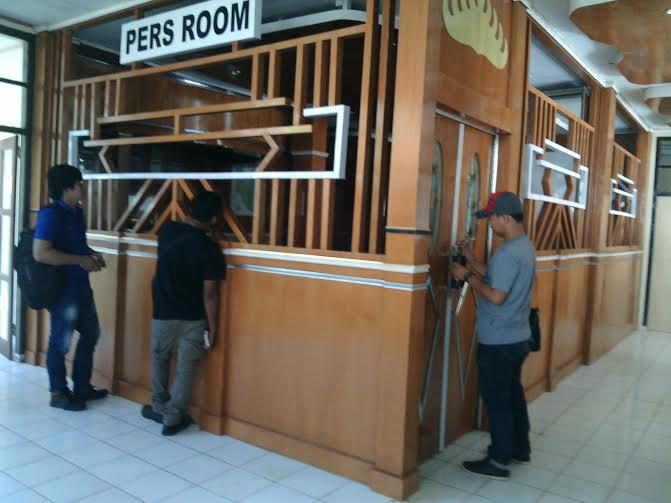 Pres Room di Sekretariat Kantor Bupati Lampung Timur. | Suparman/Jejamo.com