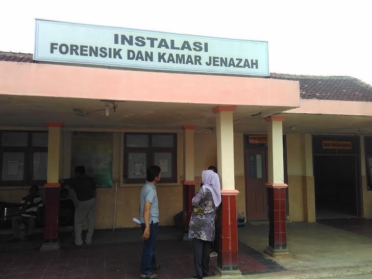 Instalasi Forensik dan kamar mayat RSUD Abdul Moeloek Bandar Lampung |Andi/jejamo.com