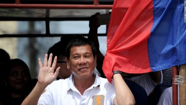 Rodrigo 'Digong' Duterte Menangi Pemilihan Presiden Filipina