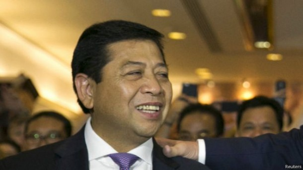 Setya Novanto Terpilih Ketua Umum Partai Golkar