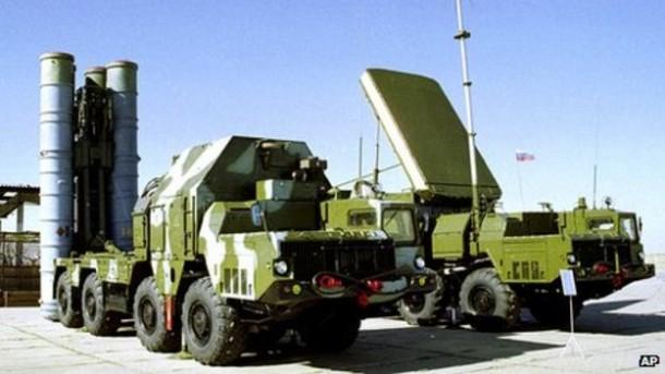 Sistem pertahanan udara S-300 Rusia