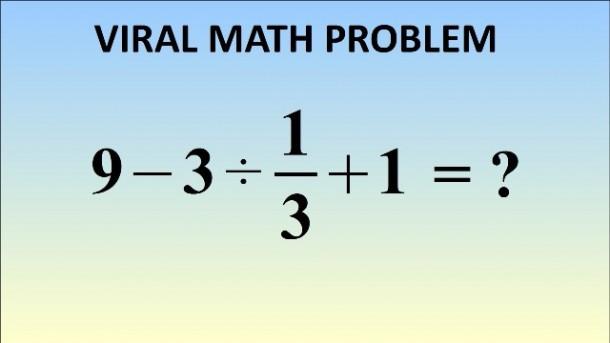 Soal Matematika Ini  Lagi Ngetren di Inggris dan Jepang, Anda Berani Coba?