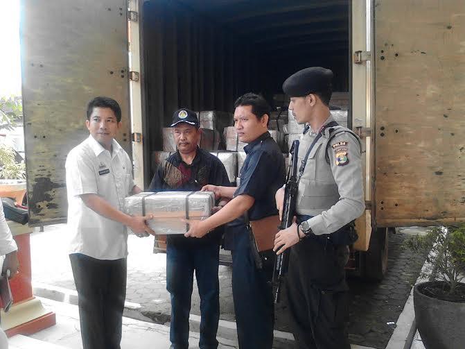 Dikawal Polisi Bersenjata, Soal UN SMP Diterima Dinas Pendidikan Lampung Utara
