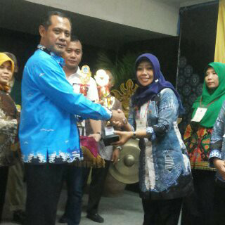 Kepala TK Aisyiyah Kauman Metro Pusat Astutiningsih Terbaik Se-Lampung