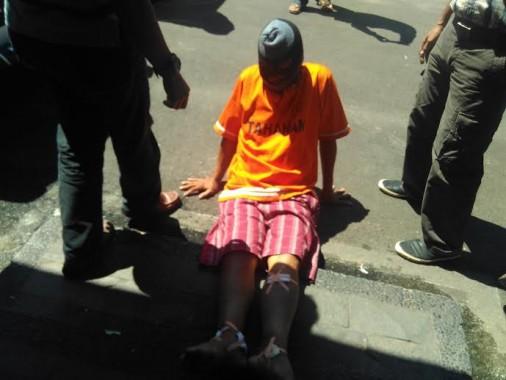 Pencuri Spesialis Pecah Kaca Mobil Dihadiahi 7 Butir Timah Panas