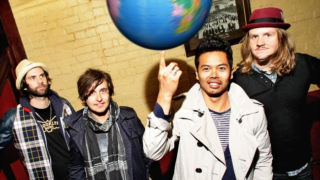 Band asal Australia The Temper Trap | ist