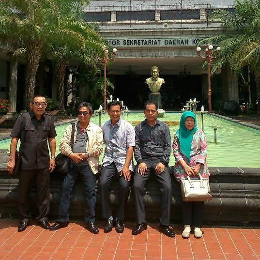Anggota Komisi II DPRD Kota Metro saat Kunker ke Malang | ist