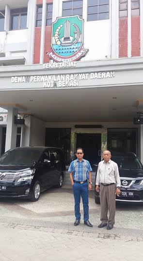 Anggota DPRD Kota Metro saat Kunker di DPRD Kota Bekasi | ist