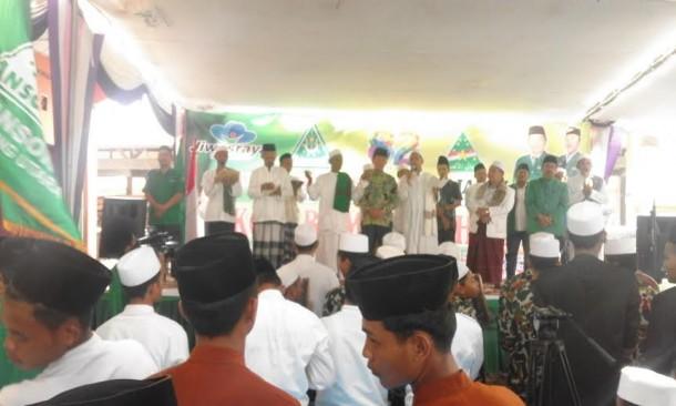 Peringati Hari Lahir, GP Ansor Lampung Utara Gelar Zikir dan Shalawat Bersama