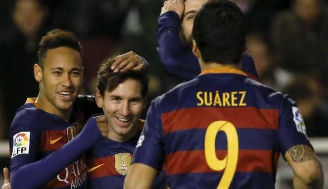 Taklukan Granada, Barcelona Dipastikan Juara La Liga