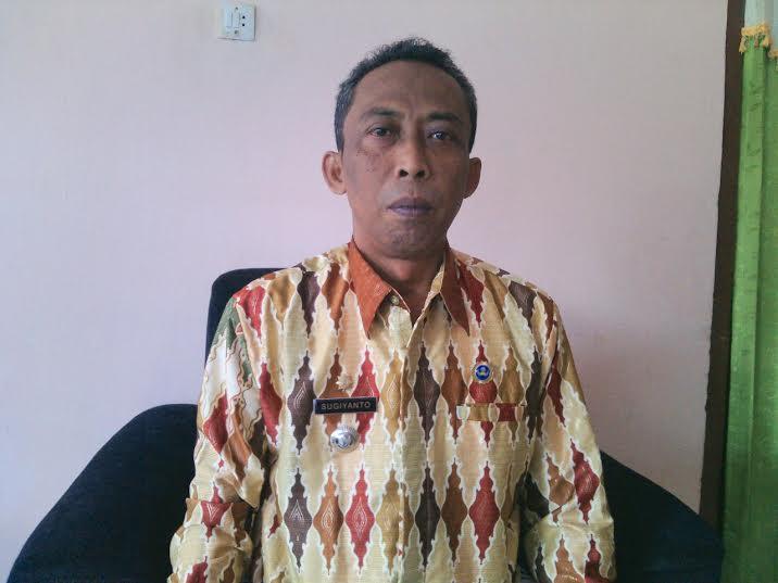 Camat Sekampung Lampung Timur, Sugiyanto. | Suparman/Jejamo.com