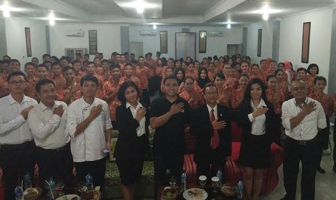 Horison Lampung Goes To School, Pelajar Metro Dikenalkan Dunia Perhotelan