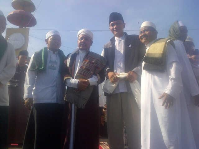 Ribuan Jamaah Ikuti Tablig Akbar di Tugu Adipura Bandar Lampung