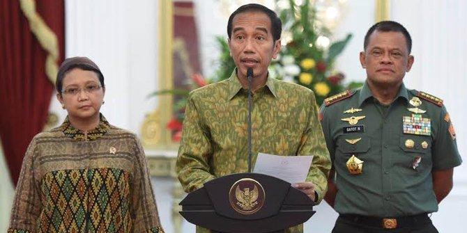 Presiden Joko Widodo saat memberikan keterangan di Istana Kepresidenan, Rabu, 11 Mei 2016. | detik.com