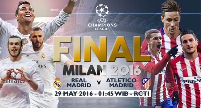 Humas KONI Lampung Jagokan Real Madrid Juara Liga Champions