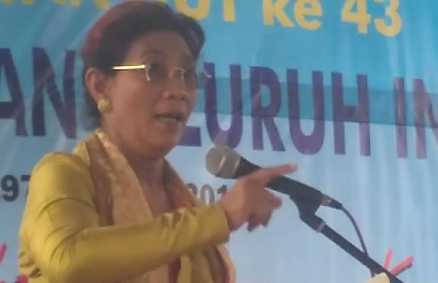 Menteri Kelautan dan Perikanan, Susi Pudjiastuti. | Andi Apriyadi/Jejamo.com