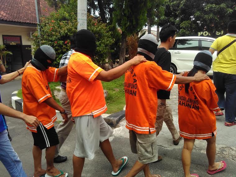 Polresta Bandar Lampung Ringkus Komplotan Penggelapan Mobil Rental