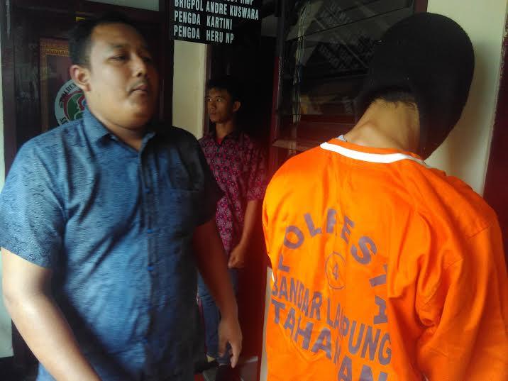 Berkat Informasi Warga, Bandar Narkoba Dibekuk Polresta Bandar Lampung