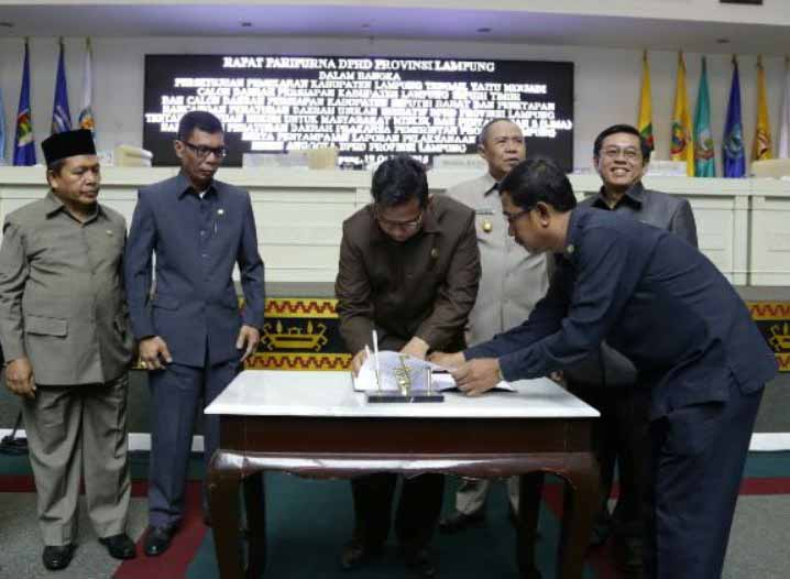 Almarhum Wakil Ketua DPRD Lampung Toto Herwantoko Awalnya Tak Suka Politik