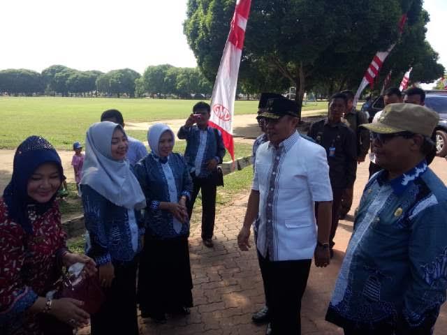 Advertorial: Wabup Lampung Tengah Optimis SDN 1 Gunung Madu Menangi Lomba UKS Nasional