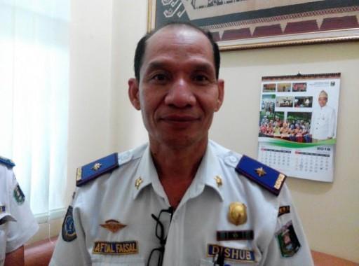 Kepala Dishubkominfo Lamtim Afdal Faisal. | Suparman/Jejamo.com