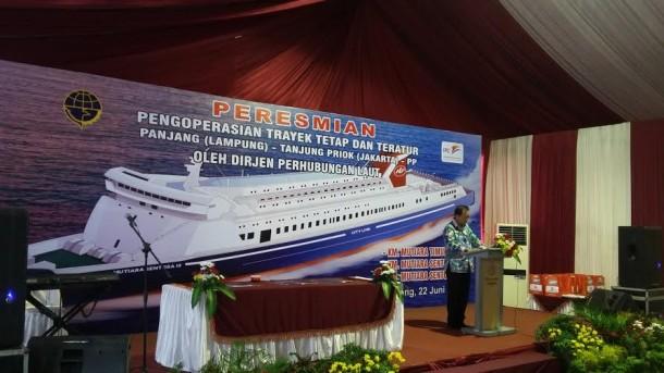 Wakil Gubernur Lampung Apresiasi Pengoperasian Kapal RoRo Panjang Tanjung-Priok