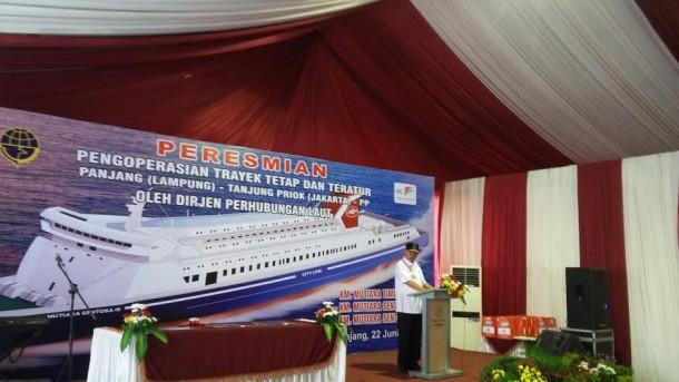 PT Atosim Operasikan Tiga Kapal RoRo Trayek Panjang-Tanjung Priok