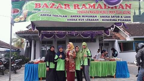 Bazar di Tejoagung Metro Timur, Para Ibu Tambah Penghasilan