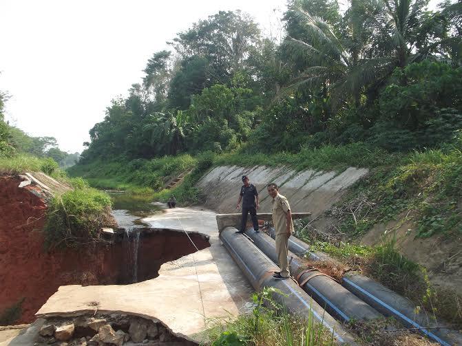 Kepala Dinas Pertanian Lampung Utara Minta Pemprov dan Pusat Perbaiki Bendungan Way Bumi Agung
