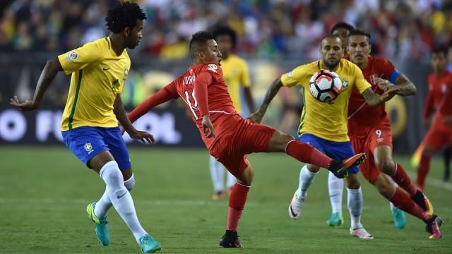 Brasil vs Peru pada Copa America | ist