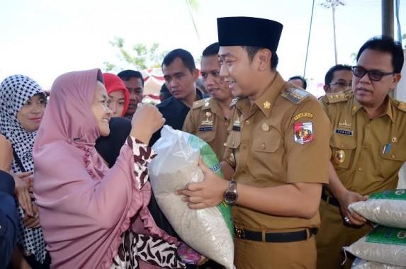 Toko Tani Indonesia Provinsi Lampung Distribusikan 2,1 Ton Beras