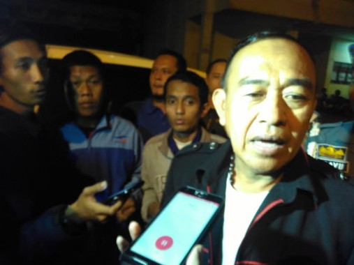 Kepala Satuan Polisi Pamong Praja Bandar Lampung Cik Raden. | Andi Apriyadi/Jejamo.com