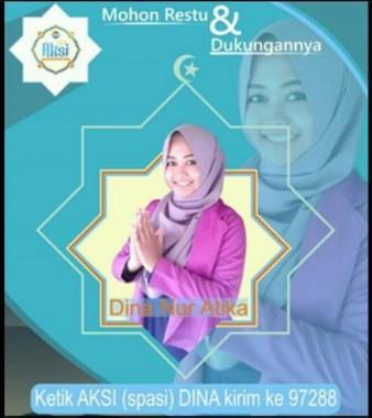Jumat Dini Hari Tampil Aksi Indosiar, Wakil Lampung Dina Nur Atika Mohon Doa dan SMS