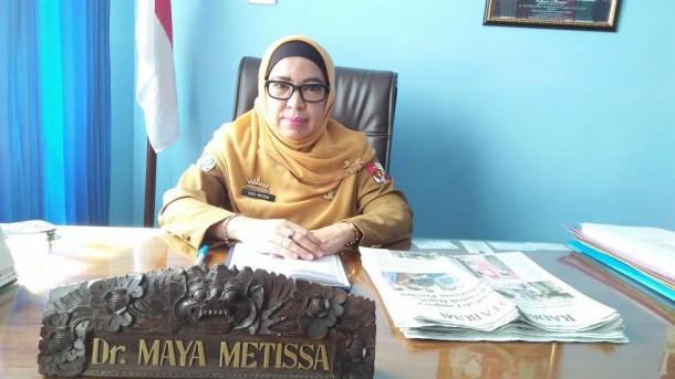 Direktur RSUD HM Ryacudu Kotabumi dr Hj Maya Metissa | Lia/jejamo.com