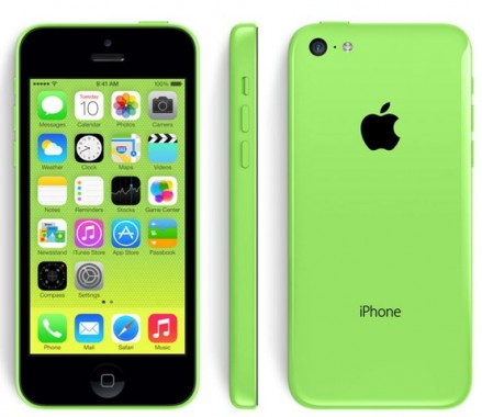 Green Iphone5c