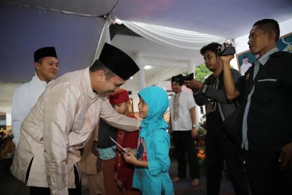 Gubernur Lampung M Ridho Ficardo Safari Ramadan ke Kabupaten Lampung Tengah