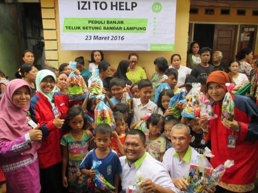 Duta Zakat IZI Lampung Siap Salurkan Ziswaf Warga Muslim