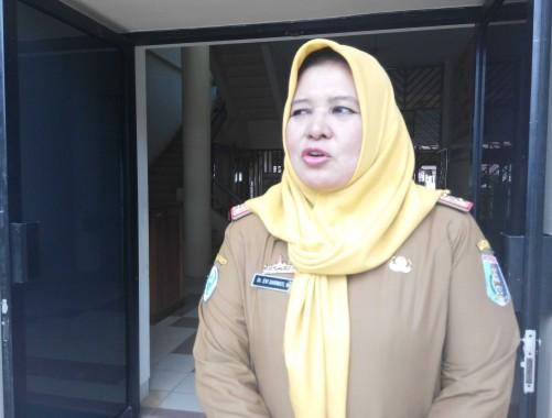 Plt. Kepala Dinas Kesehatan Lampung Timur dr Evi Darwati. | Suparman/Jejamo.com