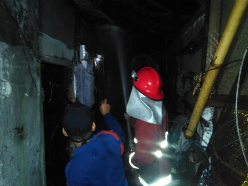Korban Kebakaran 9 Rumah di Bandar Lampung Ngungsi ke Rumah Warga