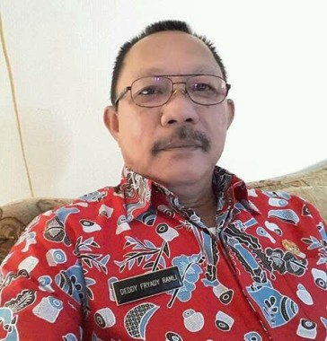 Kepala Kesatuan Bangsa dan Politik (Kesbangpol) Kota Metro Deddy Fryady Ramli. | Tyas Pambudi/Jejamo.com