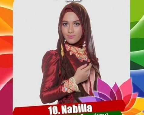 Nabila Mahasiswi IAIN Raden Intan Lampung Juara II Sunsilk Hijab Hunt 2016, Raih Rp30 Juta