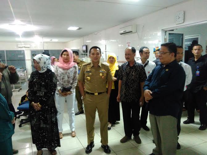 Ombudsman RI dan Gubernur Lampung Tinjau RSUD Abdul Moeloek