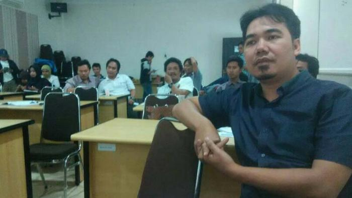 Ketua Aliansi Jurnalis Independen (AJI) Bandar Lampung Padli Ramdan | ist