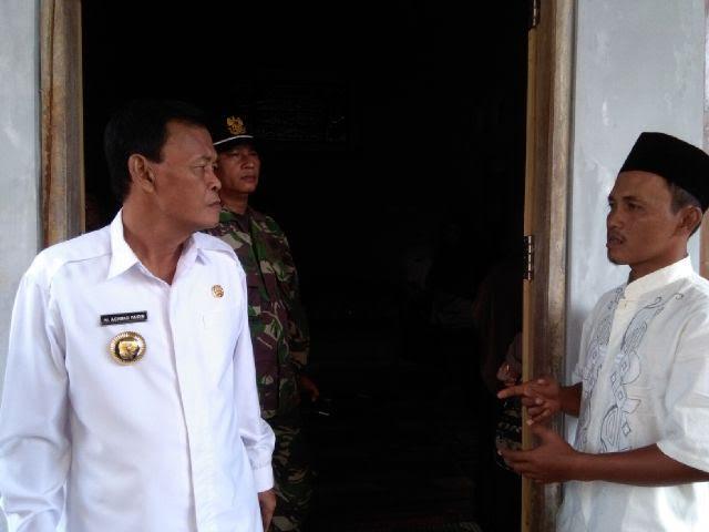 Wali Kota A Pairin Takjiah ke Rumah Korban Curas di Metro Utara