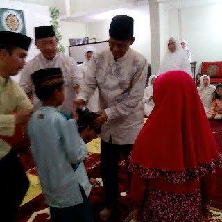 Nur Sudrajat Jadi Marbot untuk Ringankan Beban Orang Tua