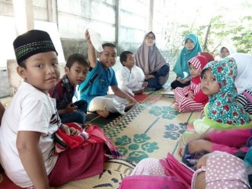 Pesantren Ramadan di Musala Nurul Barakah RW 09 Kecamatan Metro Utara. | Suwanda/Jejamo.com